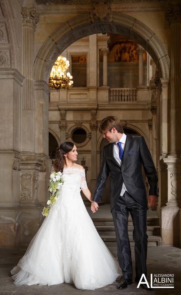 Momentos de una boda en Barcelona