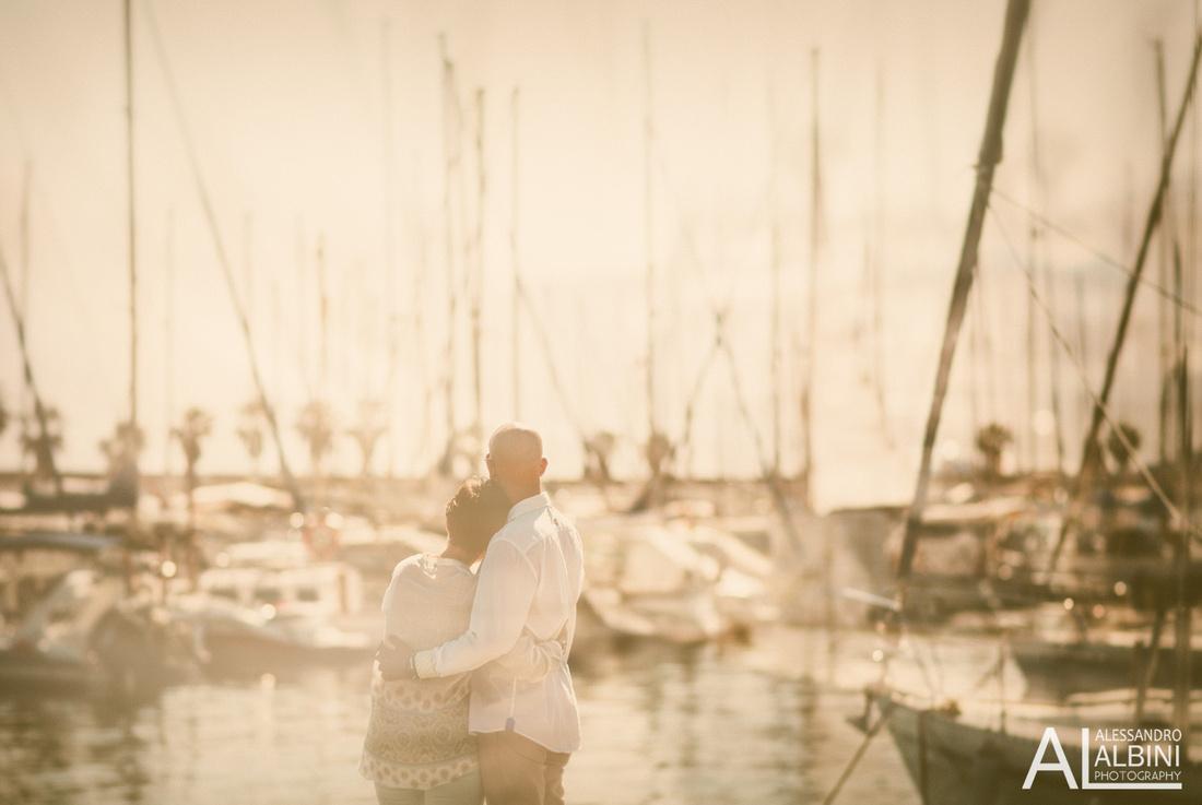sesión de pre boda en Siges