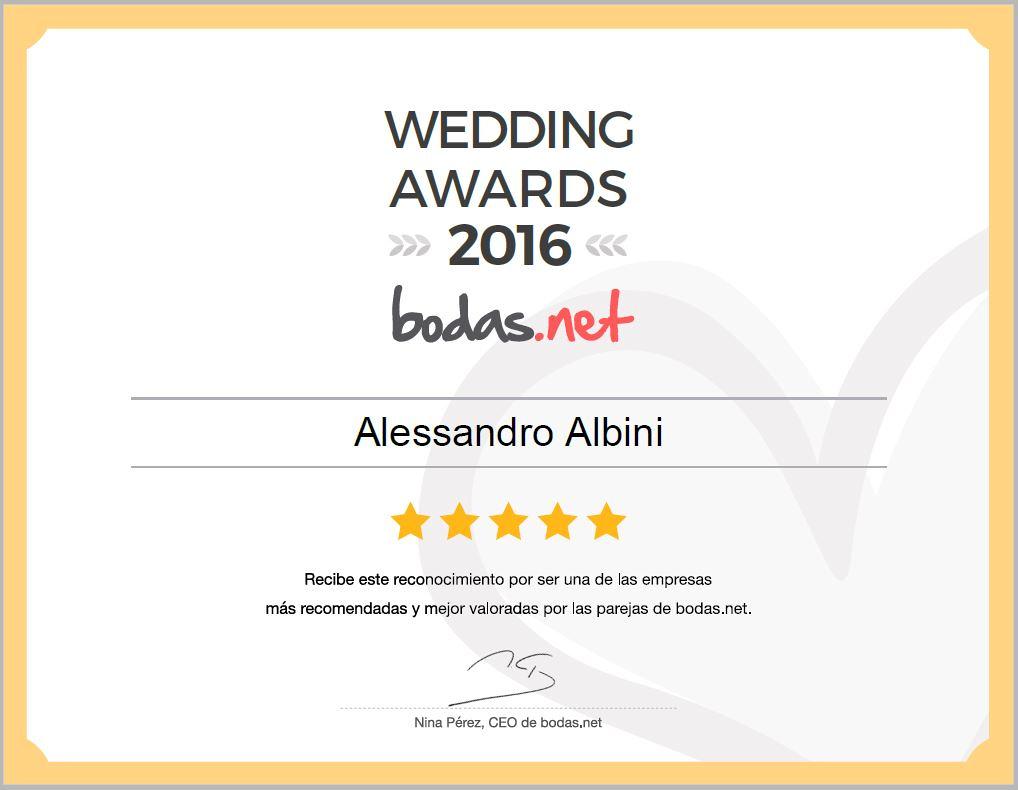 fotografo de boda en barcelona: premio de bodas.net a los mejores proveedores